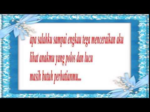 Lirik Kenangan band~TOLONG JAGA DIA.WMV
