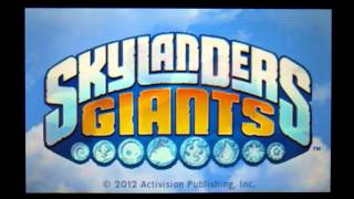 Skylanders Giants Expansion Booster Pack 3DS Gameplay
