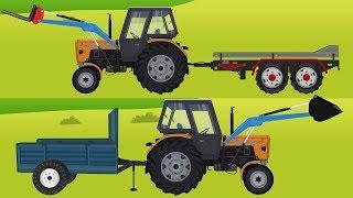 #Ursus C-360 Tractor in Action | Video for Kids | Ciągnik dla Dzieci, Piaskownica, Drewno, Słoma ;)