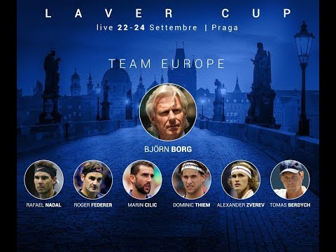 Fedal COURT PRACTICE in Prague 🎾 Laver Cup  🎾 TEAM EUROPE crushing TEAM World ?!