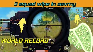 I MADE A RECORD IN SEVERNY BACK 2 BACK 3 SQUAD WIPE