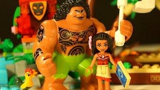МОАНА !!! Лего Дисней Игрушки из Мультика Моана !!! Lego Disney Moana 41150 Moana