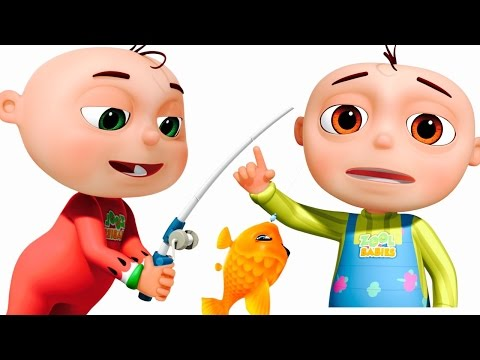 Thumbnail: 12345 Once I Caught A Fish Alive | Five Little Babies Collection | Cartoon Animation Songs For Kids