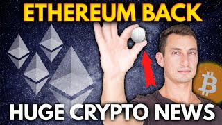 ETHEREUM NEWS BULLISH AGAIN!  HUGE Crypto News | NFT Tweet for sale $2,500,000