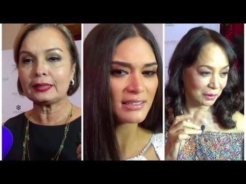 Miss Universe queens assess Maxine Medina's performance