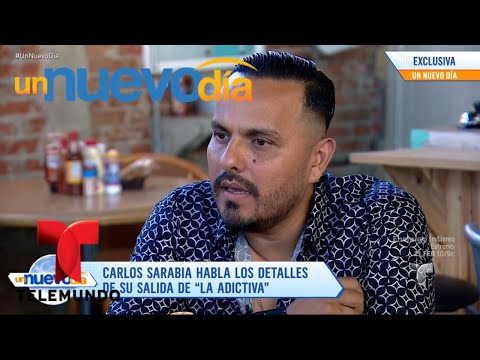 Carlos Sarabia confirmó que ya noes parte de La Adictiva   Un Nuevo Día   Telemundo