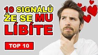 TOP 10 Signálů že se MU líbíte