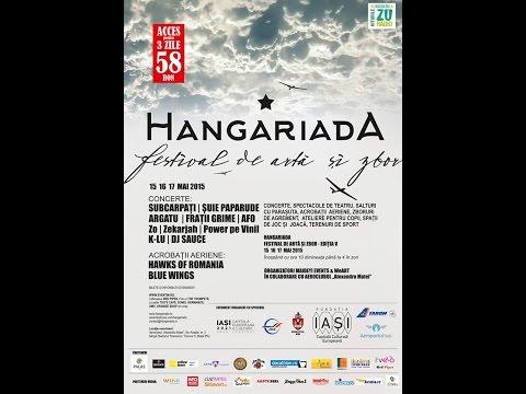 Extragere concurs  HANGARIADA Festival