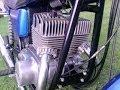 Jawa TS 350 odbudowa Po remoncie restore old motorcycle