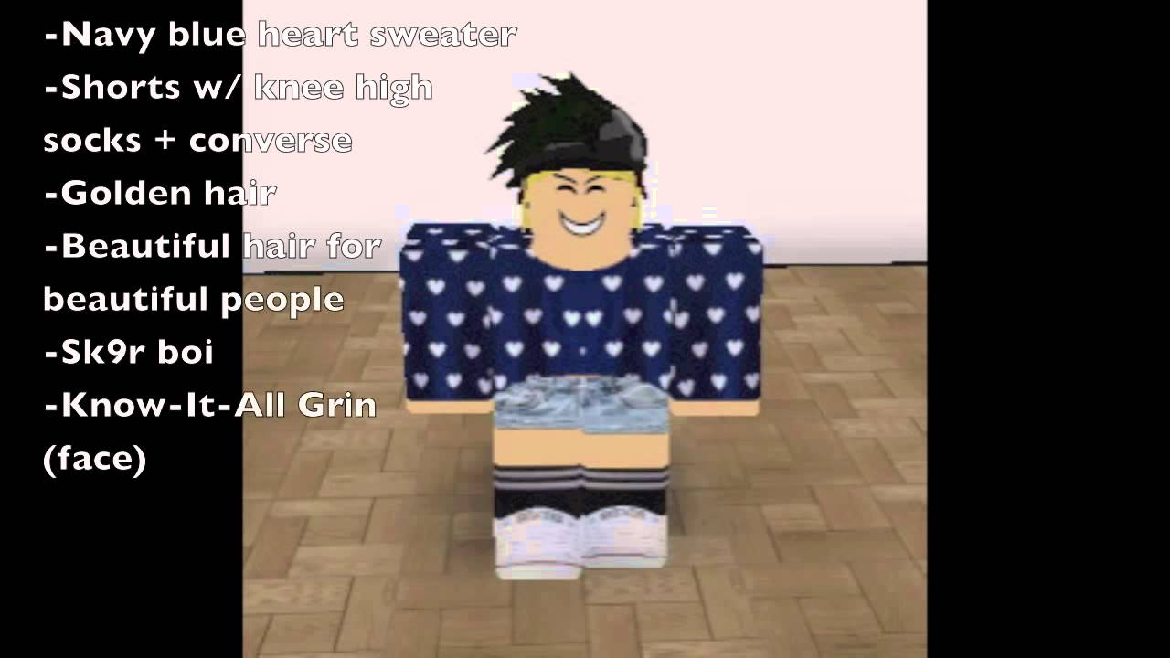roblox how to get free clothes 2014