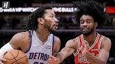 Detroit Pistons vs Chicago Bulls - Full Game Highlights | November 20, 2019 | 2019-20 NBA Season