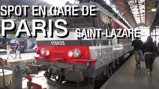 SPOT EN GARE DE PARIS SAINT-LAZARE
