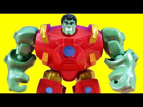 Marvel Super Hero Mashers Hulk And Hulbuster Mash To Battle Ultron