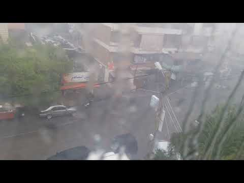 TheStrong storm just hit Lebanon.
