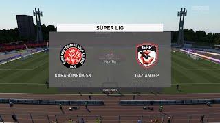 FIFA 21 Karagumruk SK vs Gaziantep FK Turkey Super Lig 03 02 2021 1080p 60FPS