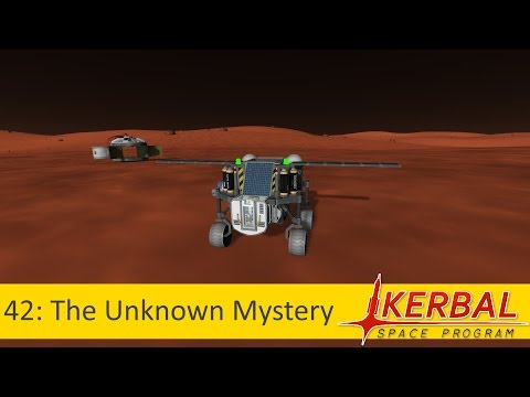 42: The Unknown Mystery (Mini Science Rover on Duna)