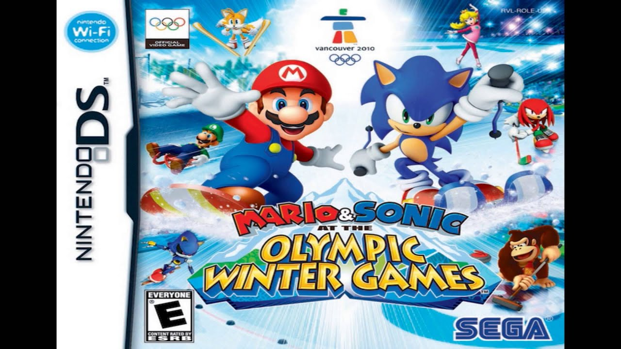 Mario & Sonic at the Olympic Winter Games (DS ... - YouTube