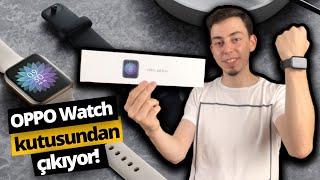 En iyi akıllı saat olmaya aday Oppo Watch kutusundan çıkıyor!