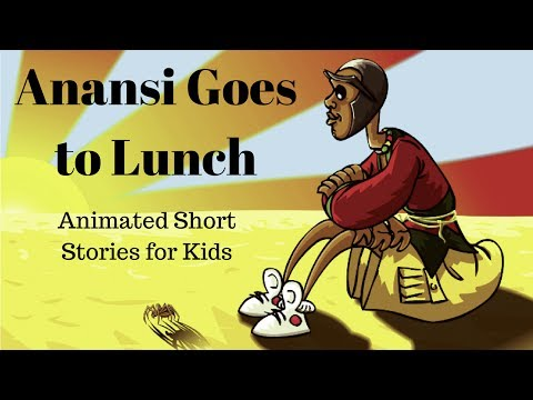image relating to Printable Anansi Stories identified as Anansi Goes in direction of Lunch (Animated Reports for Children) - YouTube
