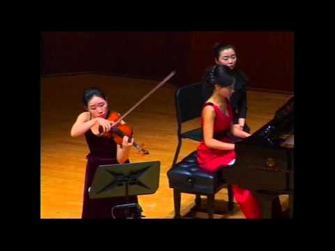 Charles Ives - Violin Sonata No.4, Children's Day at Camp Meeting