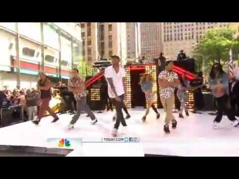 Chris Brown - Yeah 3x Today Show 2012