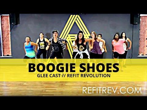 """Boogie Shoes"" (Glee Cast Version) || Glee Cast || Dance Fitness || REFIT® Revolution"