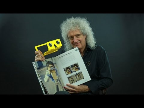"Brian May - Unwrapping the ""Queen in 3-D book"", FULL LENGTH VERSION"