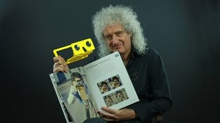 """Brian May - Unwrapping the """"Queen in 3-D book"""", FULL LENGTH VERSION"""
