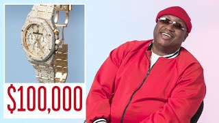 E-40 Shows Off Some of His Favorite Jewelry   On the Rocks   GQ