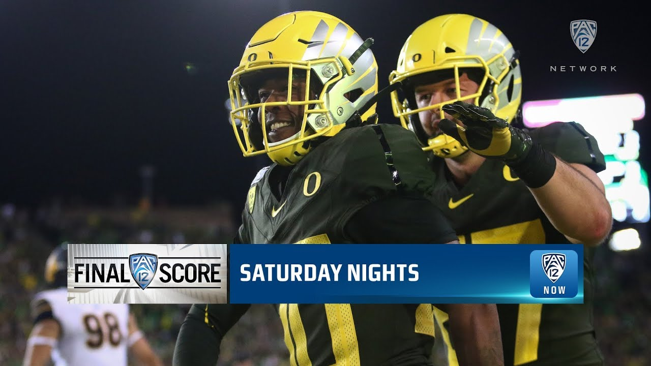 Highlights: No. 13 Oregon football scores 17 straight points, storms past Cal for gritty win