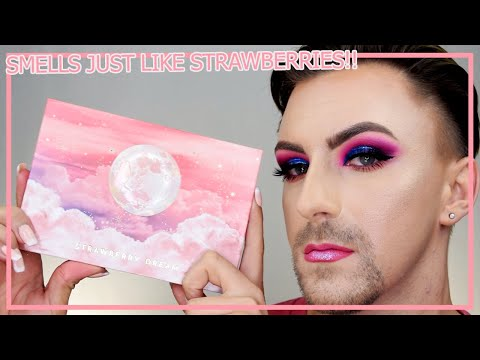 The Lunar Beauty Strawberry Dream Palette... Or is it a Nightmare?!