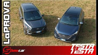 Ford Kuga vs Hyundai Tucson Test Drive