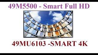 Tính năng cơ bản Smart Tv Samsung 49M5500 và 49MU6103 4K 49 inch