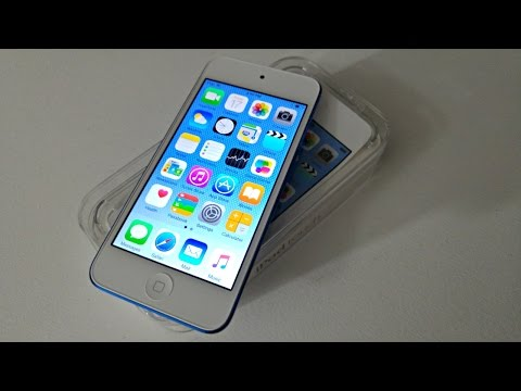 Apple iPod Touch 6th Generation: Unboxing & HandsOn Blue