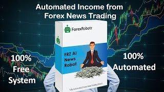 FRZ AI Forex News Trading EA Robot Free - Make Automated Money Online