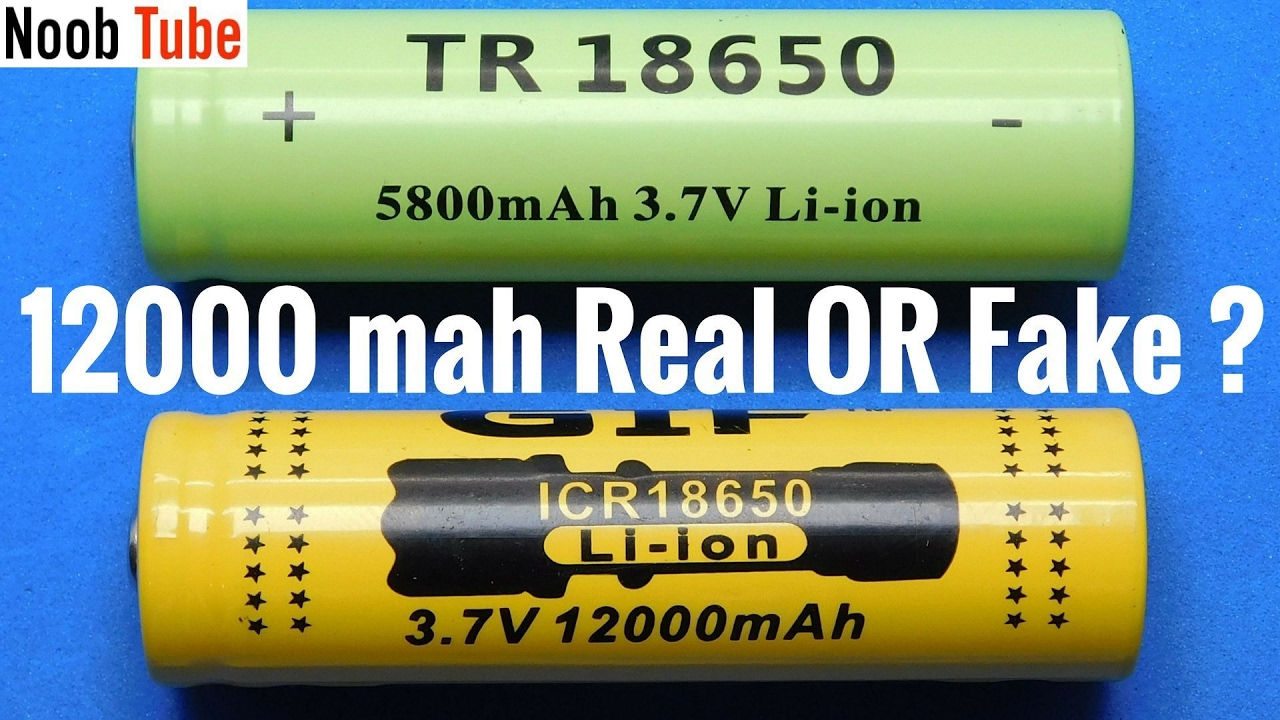 163 1 00 Chinese 18650 Test True Capacity Li Ion Battery