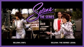 Selena: The Series - Looking For a New Love & La Bamba (Side By Side Comparison)