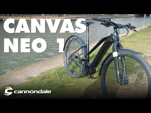 Canvas Neo 1 Cannondal Test: The Electric Bike To the American