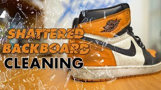The best way to clean Air Jordan 1 Shattered Backboards