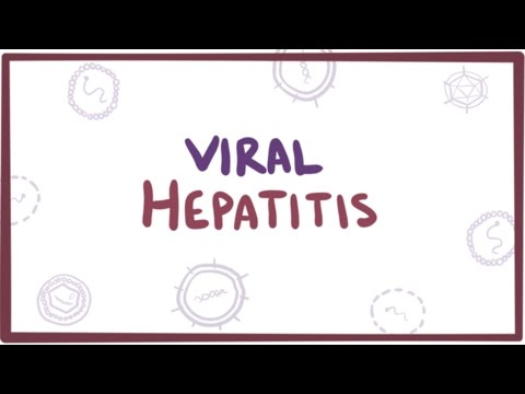 Viral hepatitis (A, B, C, D, E) - causes, symptoms, diagnosis, treatment & pathology