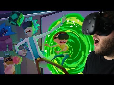 Rick and Morty Simulator - Virtual Rick-ality - Welcome to Rick's Garage! - Rick and Morty Gameplay
