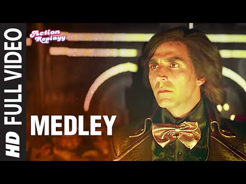Medley Full Song Action Replayy  Akshay Kumar, Aishwarya Rai Bachchan