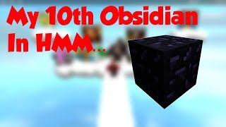 Meinen 10. Obsidian-Block | Roblox Hmm...