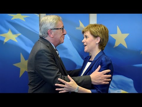 Scotland's Sturgeon meets with EU officials after Brexit