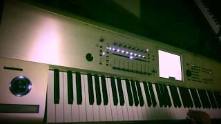 Children Robert Miles Keyboard Synth Cover Sounds Korg Kronos - narfsounds