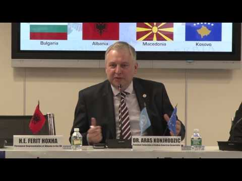 Dr. Aras Konjhodzic - Intergovernmental Relations Among Balkan Nations & The EU