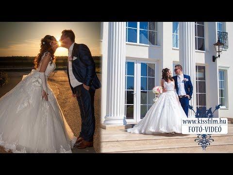 Dóra és György esküvője a Le Til Kúria és a Magyar Talléros Pálinkafőzde és Rendezvényházban