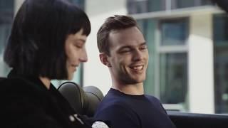 EMPORIO ARMANI - Nicholas Hoult and Alice Pagani interview