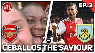 Arsenal 2-1 Burnley  | The Cheeky Sport AFTV Takeover!