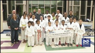 Springfield Police Patrolman's Union donates to local martial arts club